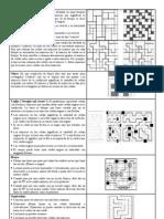 Reglas de Distintos Juegos de Logica Similares Al Sudoku