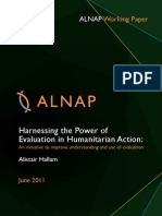 Harnessing the Power of Evaluation in Humanitarian Action
