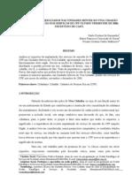 O Impacto dos  resultados nas unidades móveis do Viva Cidadão com a implantação dos serviços de CPF no úlltimo trimestre de 2006