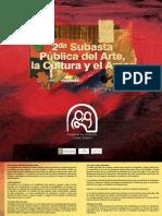 Catálogo Digital Subasta pública del Arte, la Cultura y el Amor