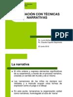 Evaluación con Técnicas Narrativas (Claudia Capella, 23.06.010)