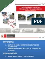 Exposición del Ministro de Transportes y Comunicaciones, Carlos Paredes Rodríguez
