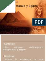 Las Primeras Civilizaciones mia y Egipto