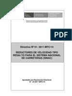 Directiva Reductores de Velocidad para publicación PDF 12.10.2011