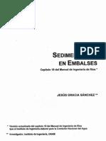 Sedimentación en Embalses