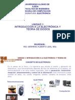 Unidad 1 Introducción a la Electronica 1
