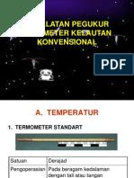 Peralatan Pegukur Parameter Kelautan Konvensional