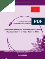 La coopération entre la FAO Et le Royaume du Maroc