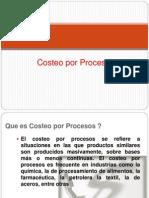 Costeo Por Procesos