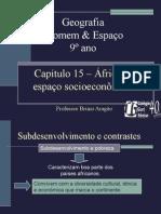 Apresentação - Geografia Homem e Espaço - Capítulo (15)