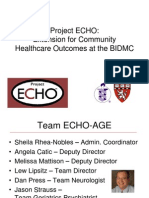 Project ECHO Logistics