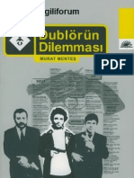 Dublörün Dilemması - Murat Menteş
