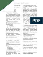 Prova de Conhecimentos Especificos - Projetos Estrategicos