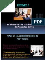 Fundamentos de La Admin is Trac Ion de Proyectos