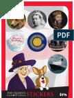TES Jubilee Stickers