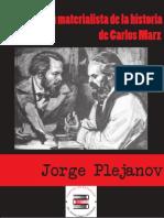 Plejanov, La Concepcion Materialist A de La Historia