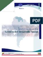 Especialización Gestión del Desarrollo Social (26.09.08)