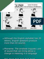 Phonology I Workshop 1 -First Presentation