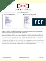 Bundle Bow and Arrow