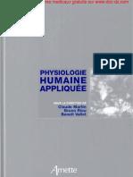 1_Physiologie Humaine Appliquée