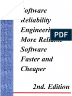 Software Reliability Engineering More Reliable Software Faster and Cheaper 2nd Edition