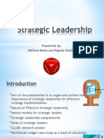 Strategic Leadership by Raps and Fifi