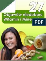 27 objawów niedoboru witamin i minerałów