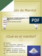 Solución de Manitol