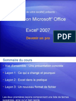 Formation Microsoft R Office