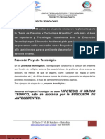 Dossier Proyecto Tecnologico Para Evaluadores