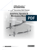 Flexco - Belt Scraper - U Type Installation Manual 2011