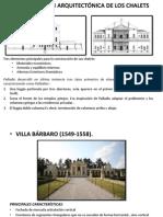 CONCEPCIÓN ARQUITECTÓNICA DE LOS CHALETS