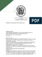 Republica Bolivar Ian A de Venezuela
