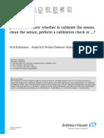 pH Sensors - Know Whether to Calibrate the Sensor