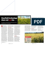 RT Vol. 9, No. 4 Clear field technology clears out red rice