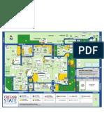 Fresno State Campus Map