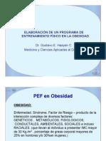 Prescripcion de Ejercicio en Obesidad-Dr Gustavo Haydeen
