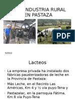 Agroindustria Rural en Pastaza