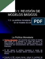 Politica Monetaria y Fiscal en Islm601