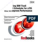 Customizing IBM Tivoli Workload Scheduler for Z-OS V8.2 to Improve Performance Sg246352