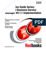 Certification Guide Series IBM Tivoli Business Service Manager V4.1.1 Implementation Sg247756