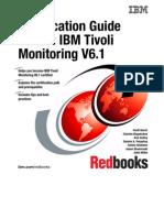 Certification Guide Series IBM Tivoli Monitoring v 6.1 Sg247187