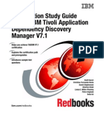 Certification Study Guide Series IBM Tivoli Application Dependency Discovery Manager V7.1 Sg247764