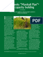 "RT Vol. 9, No. 3 Africa seeks ""Marshall Plan"" for capacity building"