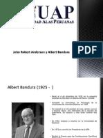 COGNITIVISMO-John Robert Anderson y Albert Bandura