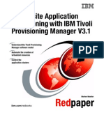 Composite Application Provisioning With IBM Tivoli Provisioning Manager V3.1 Redp4222