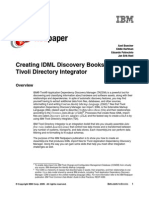 Creating IDML Discovery Books With IBM Tivoli Directory Integrator Redp4492
