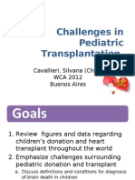 WCA Cavallieri FINAL Challenges in Pediatric Transplantation