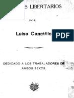 Ensayos Libertarios de Luisa Capetillo