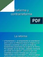 Reforma y Contra Reforma